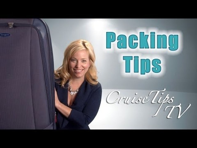 Video; How to Pack for Your First Cruise