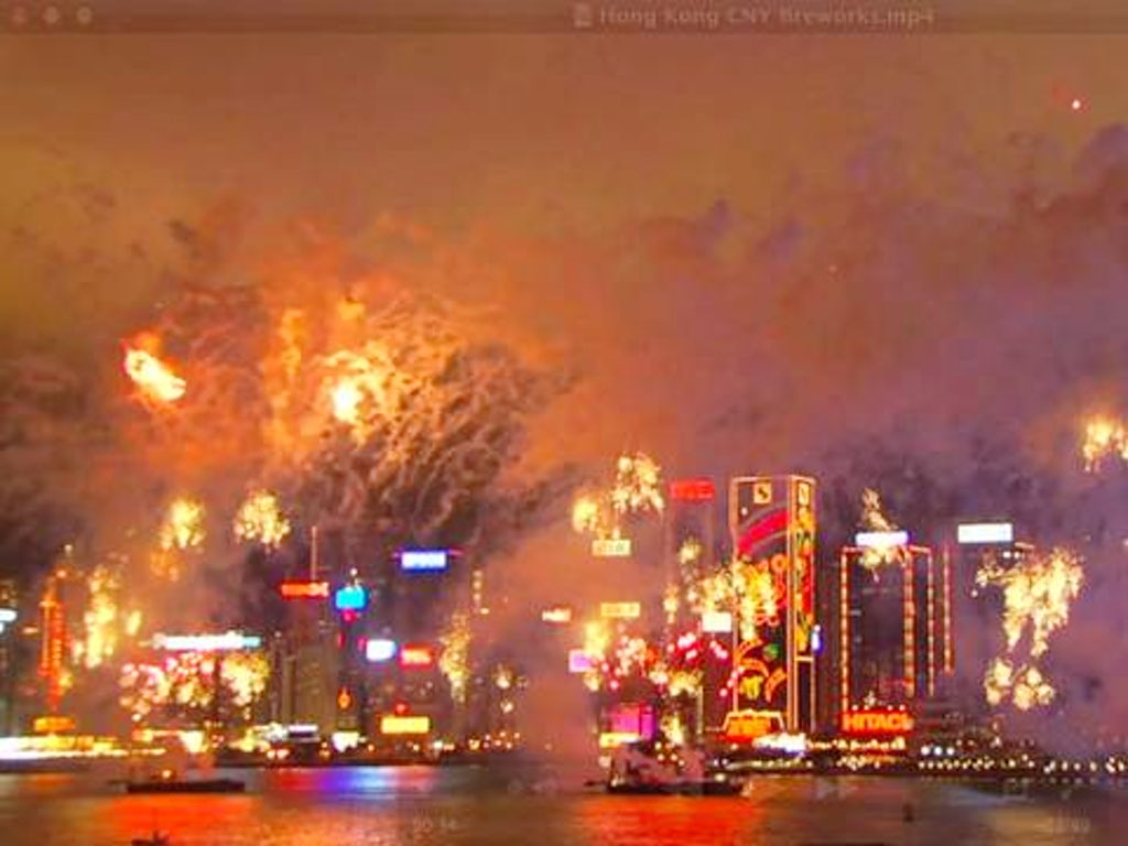 hong kong 39 s chinese new year fireworks. Black Bedroom Furniture Sets. Home Design Ideas