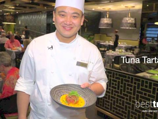 Regent Seven Seas Cruises' Tuna Tartare Recipe from Pacific Rim
