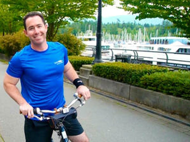 Outdoor Active Travel in Downtown Vancouver