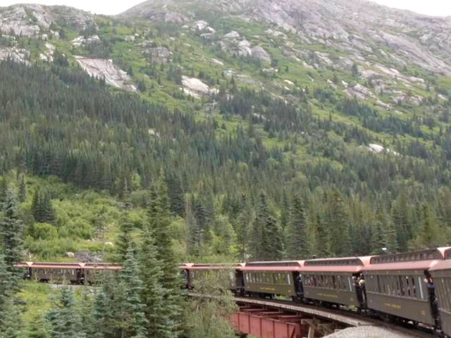Video: Take the Scenic Train from Alaska to Canada's Yukon