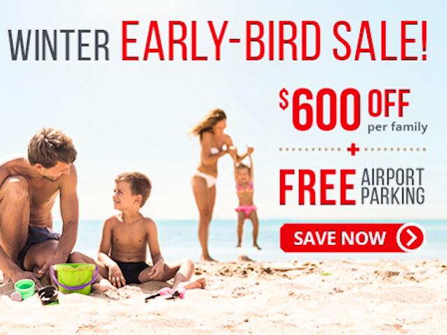 Winter Early-Bird Sale