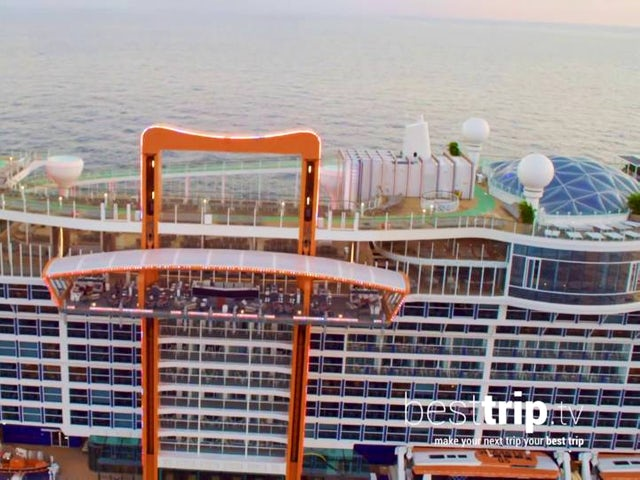 There's a Magic Carpet on this Cruise Ship