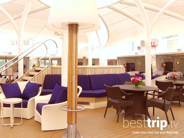 The Best Private Cabana Experience at Sea