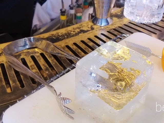 Why This Hotel Cocktail is Made with Gold
