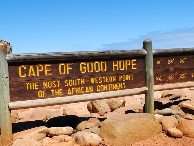 Thursday, February 20, The Cape of Good Hope