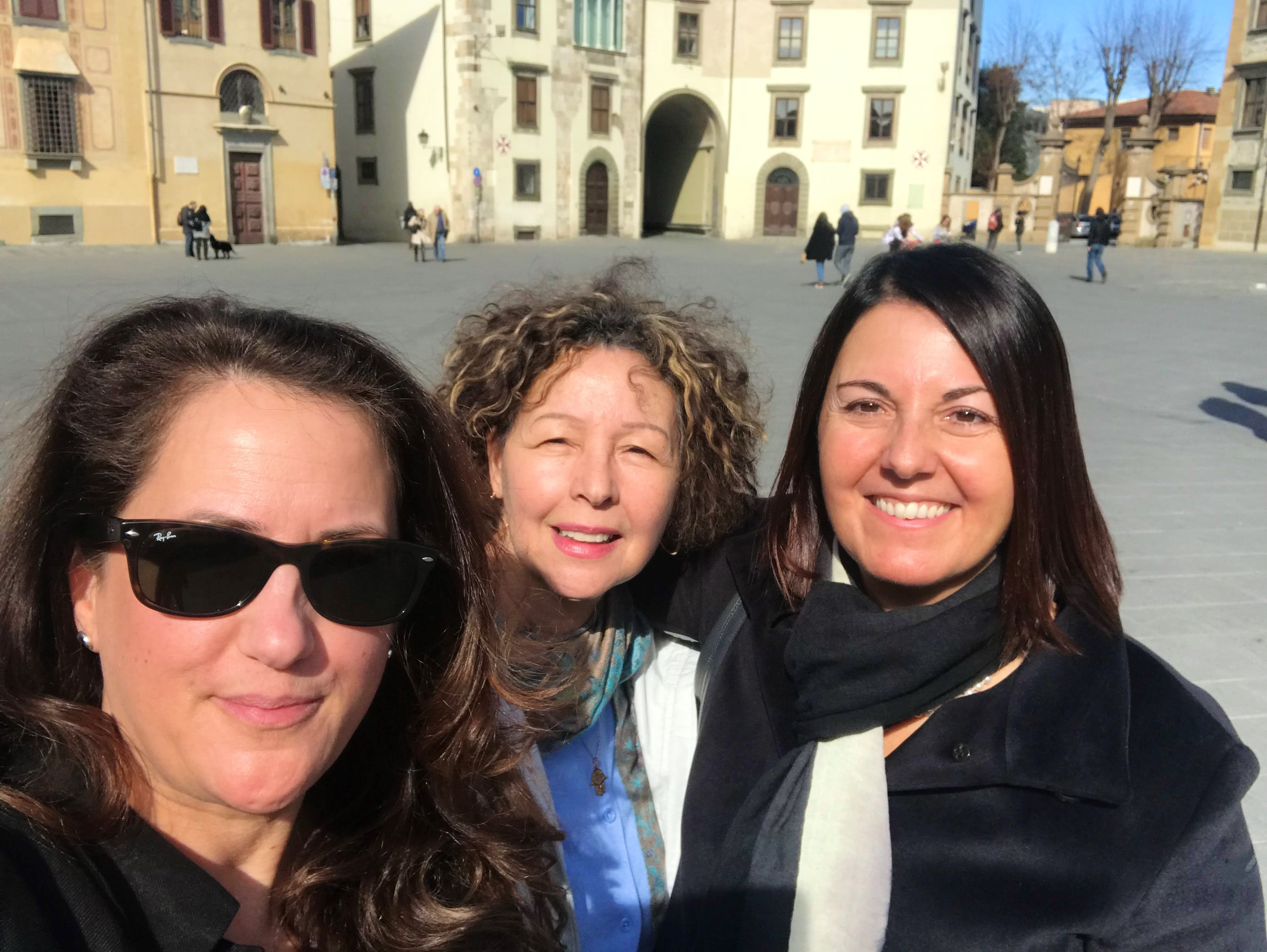 Italy Fam trip Tuscany and Rome (69 kms and 109,000 steps later) February 2019 (Lisa Bain and Manya Kellou)