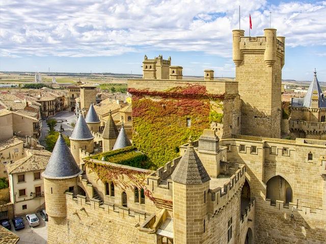 CASTLES & PALACES OF THE SPANISH WINE REGION