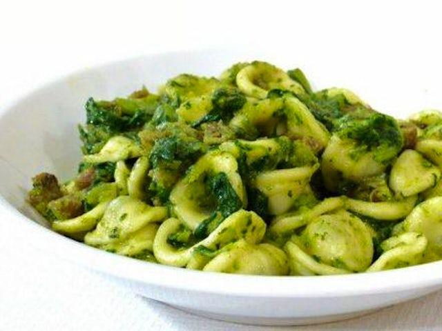 Orecchiette Con Cime Di Rapa (With Broccoli Rabe)