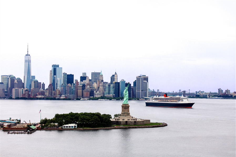 Cunard Joins Crowdfunding to Help Build New Statue of Liberty Museum