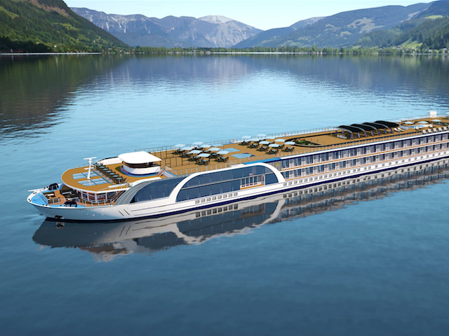 Golf Multiple, World-Class Courses While Sailing on Europe's Most Innovative New River Cruise Ship
