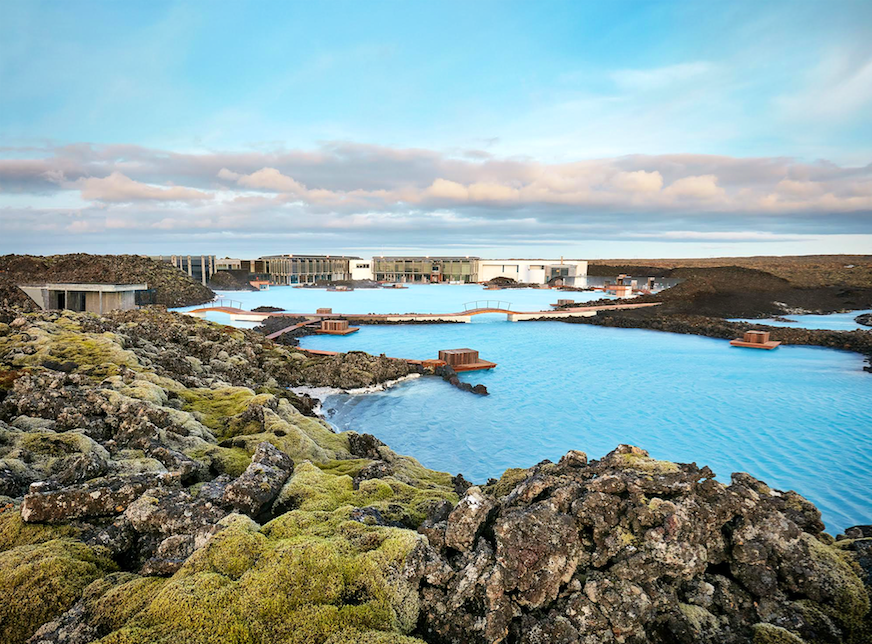 You Can Stay in this Spa Hotel Over Top of Iceland's Blue Lagoon