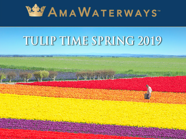 Take an AmaWaterways Tulip Time Cruise in March and Save up to $1500 USD!