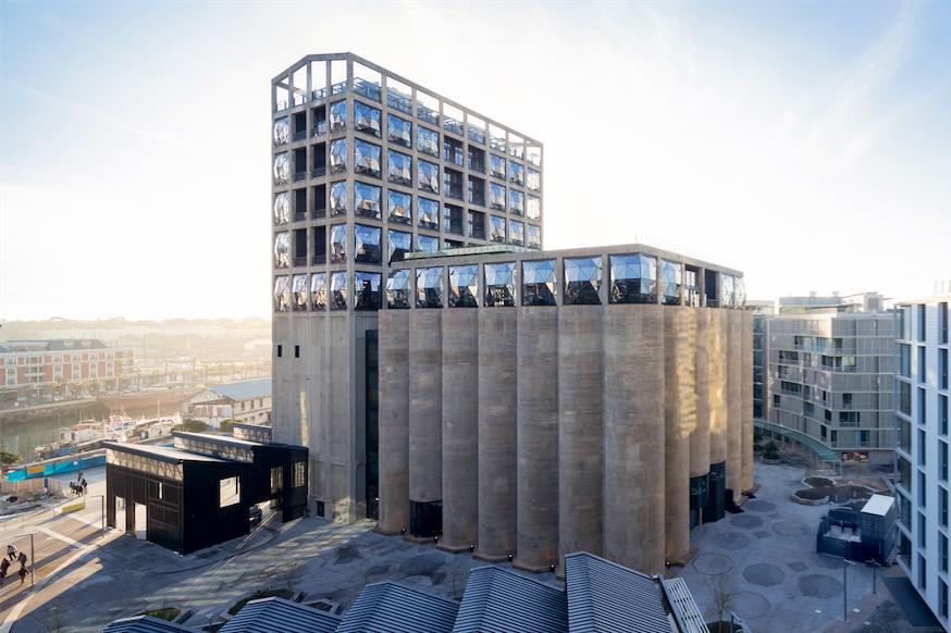 Grain Silo Transformed into Breathtaking Museum and Hotel