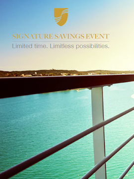 Offer Extended Only Until February 28th! Seabourn's Signature Savings