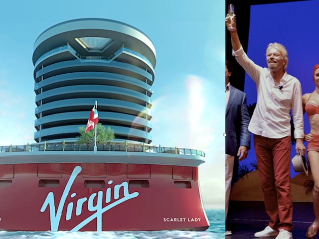 You Can Celebrate Richard Branson's Birthday With Him on his Adults-Only Cruise Line