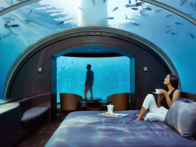 Think Overwater Villas are the Height of Exotic Luxury Travel? Try This UNDERwater Villa