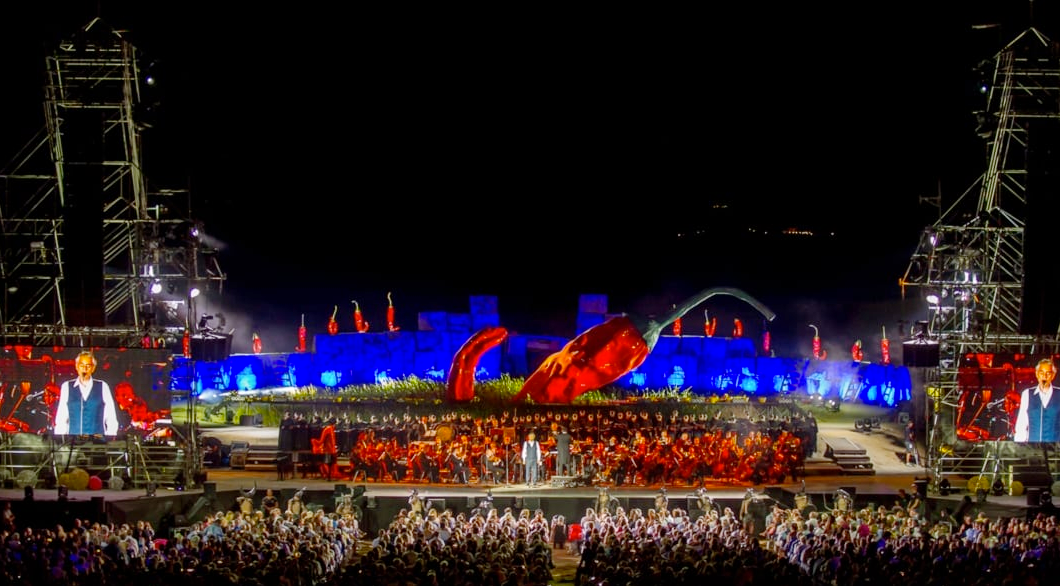 An Evening Under the Stars with Andrea Bocelli in Florence This July with Rocco Forte