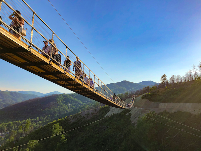 The Longest Suspension Bridge In North America Has Opened and it Overlooks America's Most Visited National Park