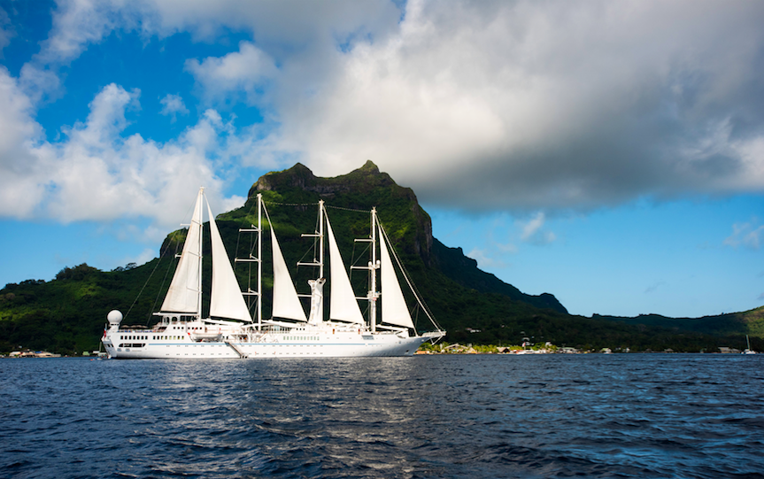 Up to $1000 Credit Plus New South Pacific and Australia Windstar Sailings