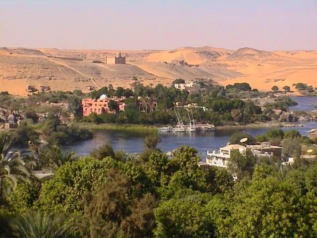 Aswan Dam - Temple of Philae