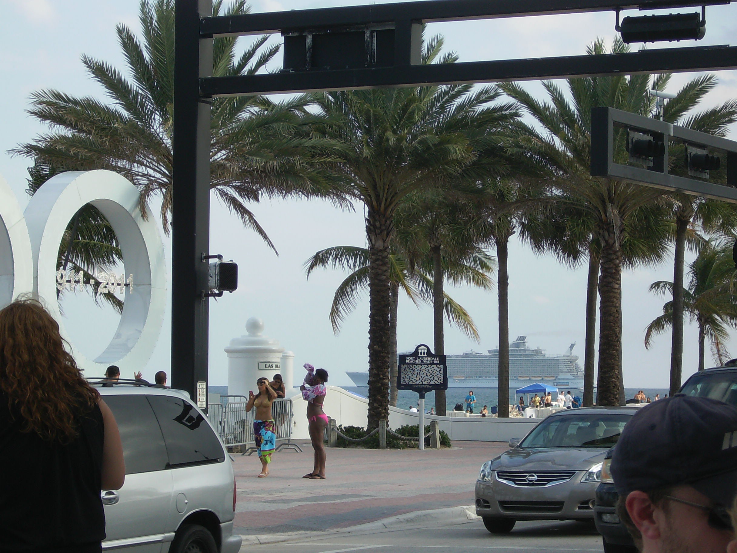 Ft. Lauderdale is a great starting off point for cruising!
