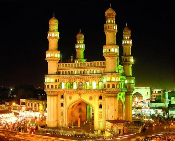 A city of mosques, Hyderabad