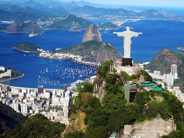 A marvelous city, Rio de Janeiro