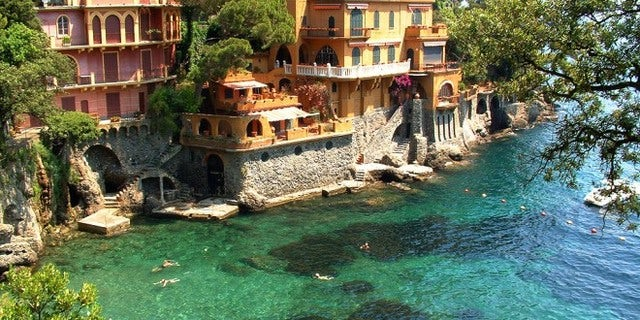 A small Italian Fishing Village, Portofino