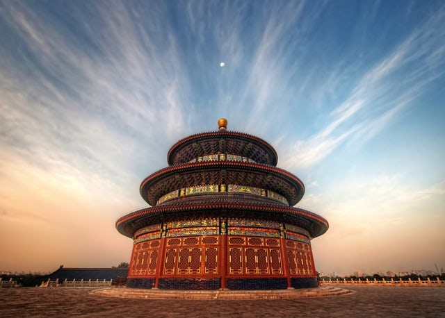 A most popular place for exercise, Temple of Heaven