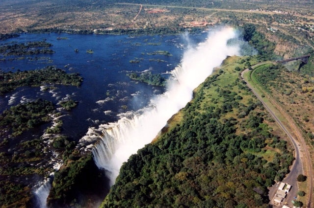 One of the world's most spectacular natural wonders, Victoria Falls