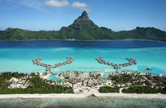 A vacationing paradise, Bora Bora