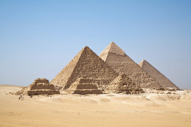 Best egyptian pyramids, Giza