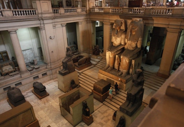 A symbol of faith, Egyptian Museum in Cairo