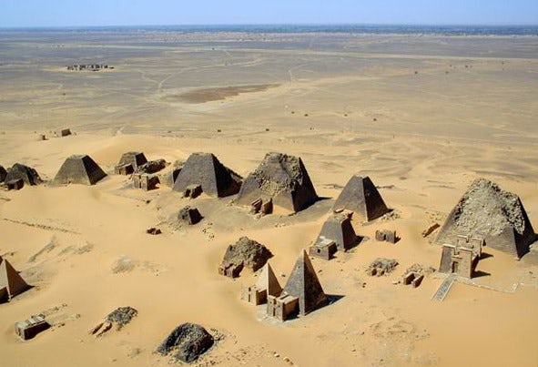 Ride a Camel, and See the Historical Pyramids in Sudan