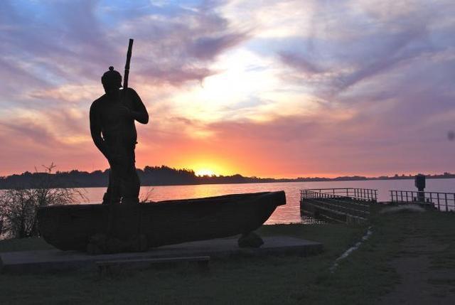 The survival place, Budi Lake