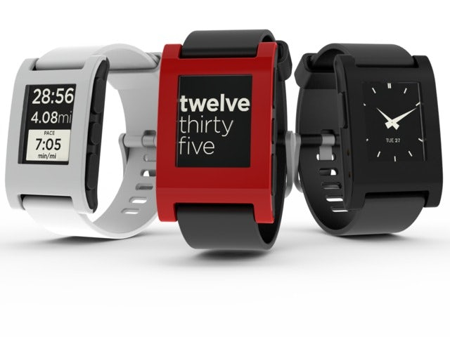 Never miss a message with Pebble Watch