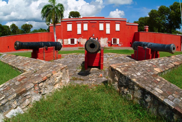 Protection from the pirates, Fort Frederik (St. Croix)