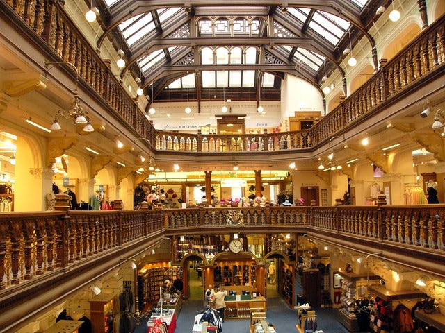 Fancy and stylish shopping in Jenners
