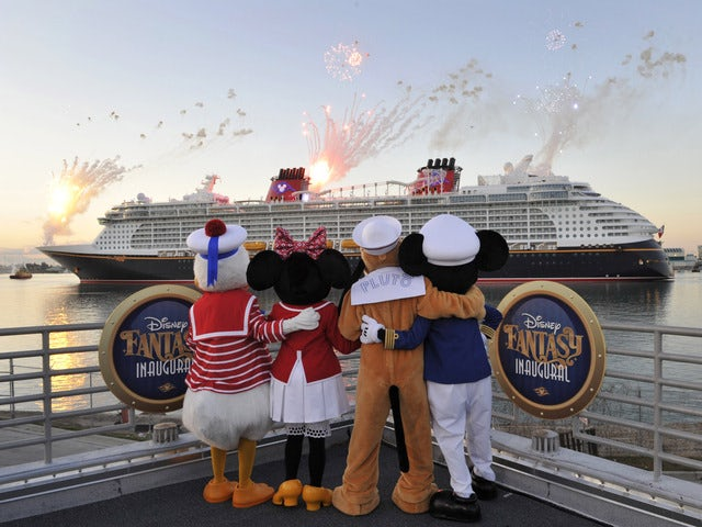 Sailing the sea with Disney Fantasy