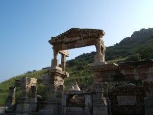 John Wilkie in Greece