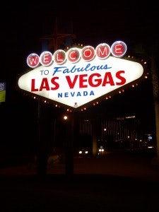 Liz Devine in Las Vegas