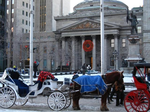 Preserved old town, Old Montreal (Vieux-Montreal)