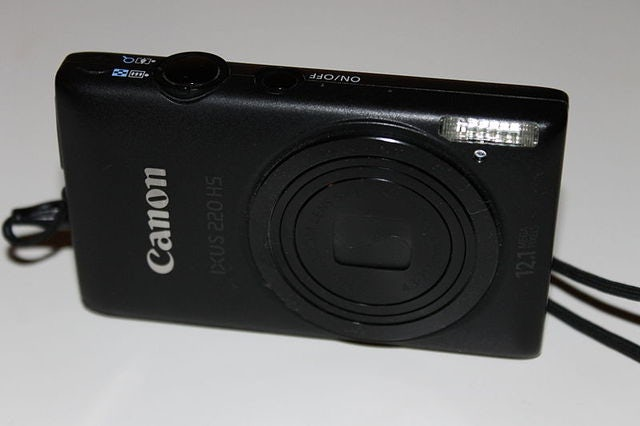 Travel Light with the Canon PowerShot ELPH 520 HS Digital Camera