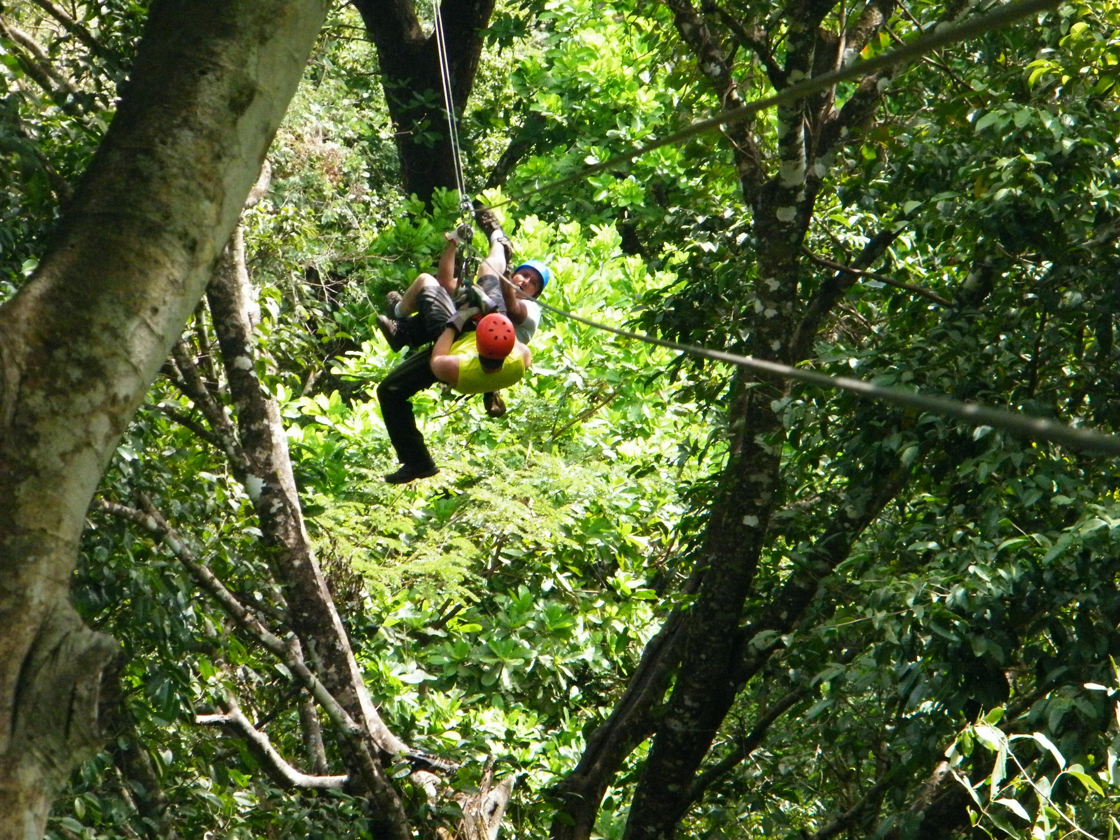 Richelle Mann in Costa Rica