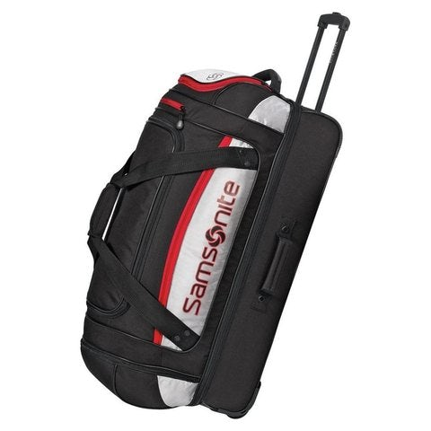 Mega packing ,Samsonite Utility Core 29-inch Wheeled Drop-Bottom Duffe