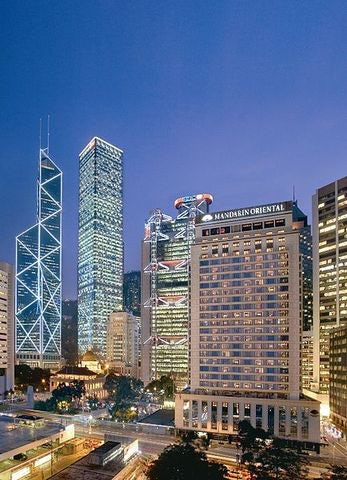 Wallow in Luxury and Great Service at the Mandarin Oriental, Hong Kong
