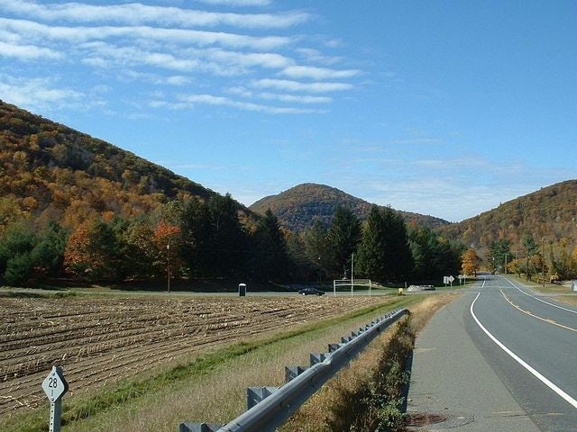 Experience the Great American Roadtrip via the Mohawk Trail