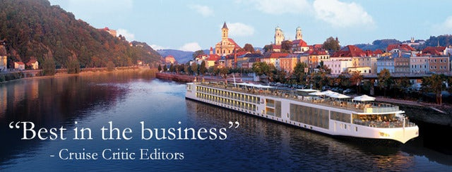 "RIVER CRUISING  "" World's Most Awarded River Cruise Line"""