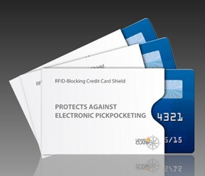Compact protection, L.C. Industries RFID Blocking Credit Card Sleeves